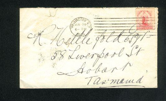 1905 Universal postage cover, July 20