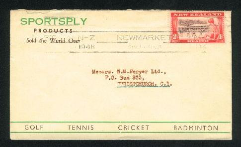 1948 Sportsply cover , golf tennis cricket badminton