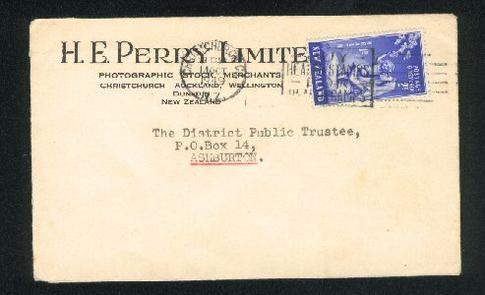 1949 Perry Ltd, Photographic stock merchant cover