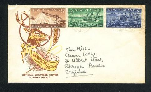 1959 Marborought fdc