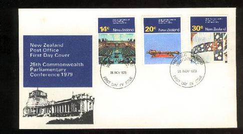 1979 Parliamentary conference fdc