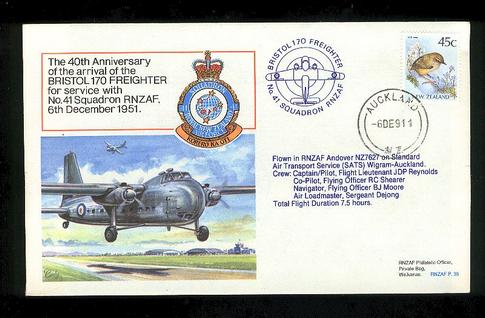 1991 Bristol 170 freighter cover