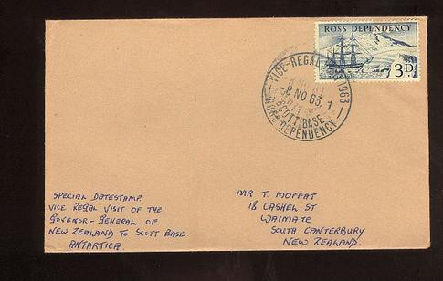 1963 Vice Regal visit, Govenor General New Zealand to Scott Base cover