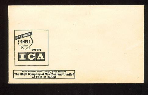 Shell Company of New Zealand unused envelope