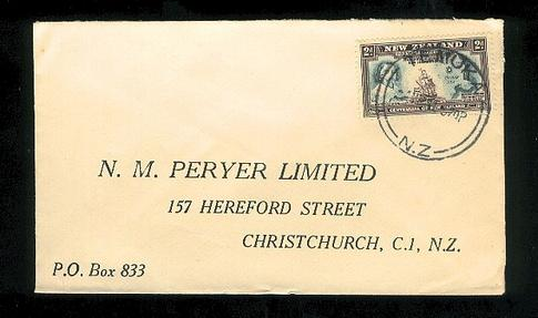 1941  Peryer Limited chemist Cook cover Tenuka