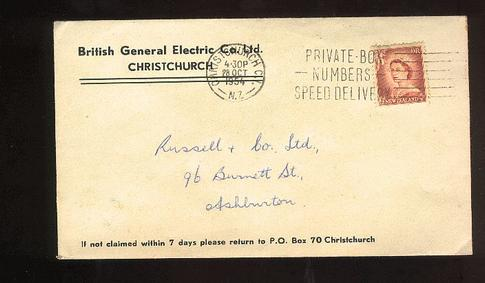 1954 British General Electric Co cover