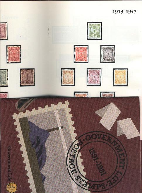 New Zealand Lighthouse book 1891-1981 Government stamps