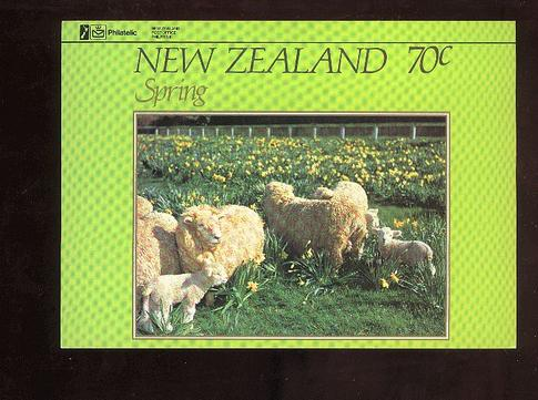 1982 Seasons Spring sheep