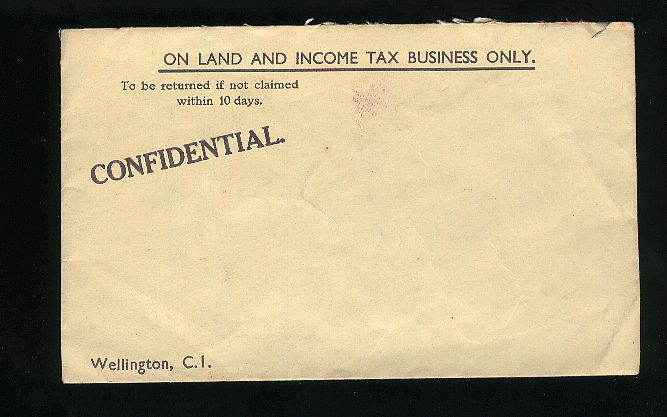1940? INCOME TAX BUSINESS ADV ENVELOPE