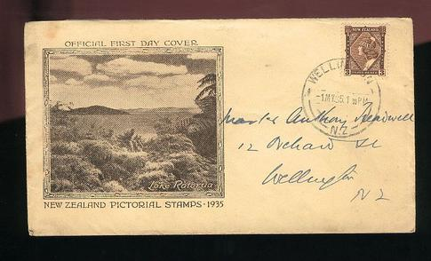 1935 Pictorial 3d fdc