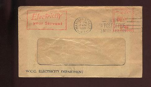 1959 W W C Electricity department