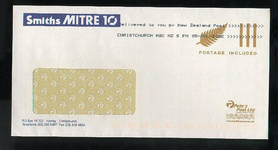 2005 Petes Post, Smiths Mitre 10