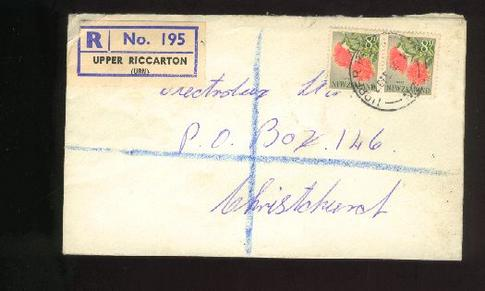 1965 Reg Upper Riccarton cover 26 Feb