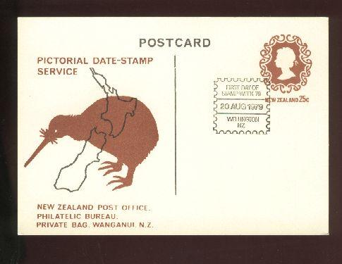 1979 First day of stamp week card