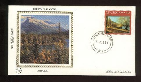 1982 The four seasons 40c fdc