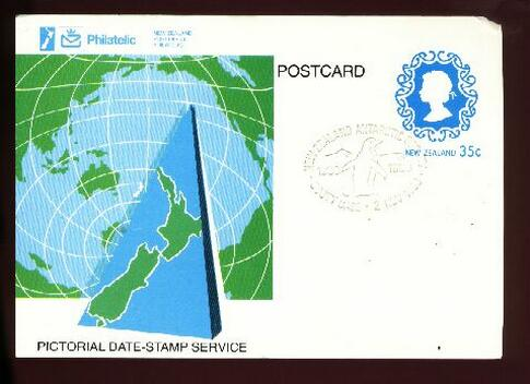 1983 Antarctic Society card