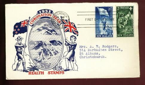 1953 Health Everest Edmund Hillary Scou fdct