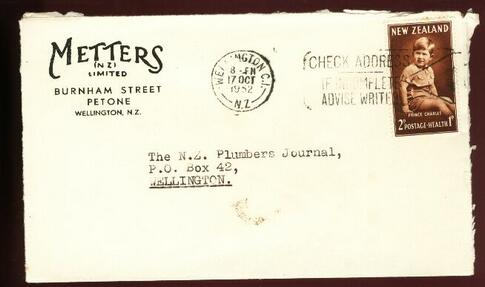 1952 Metters LTD cover 17 OCT