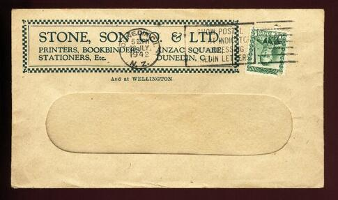 1942 Stone Son Co & Ltd Printers Bookbinders 22 July cover