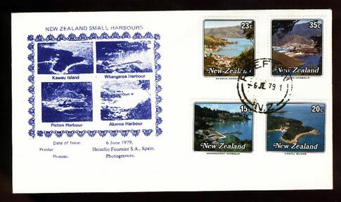 1979 Small harbour fdc