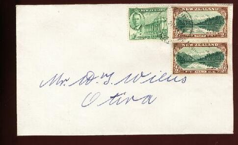 1946 FDC from Otira