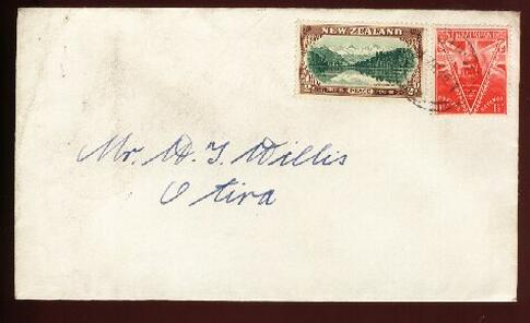 1946 FDC from Otira 1 APR