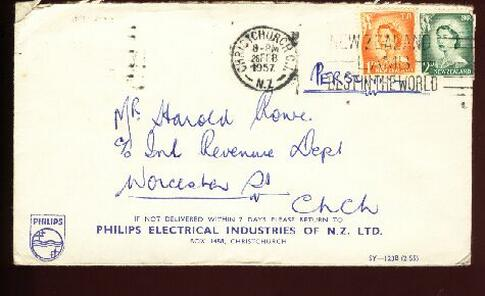 1957 Philips Electrical Industries cover