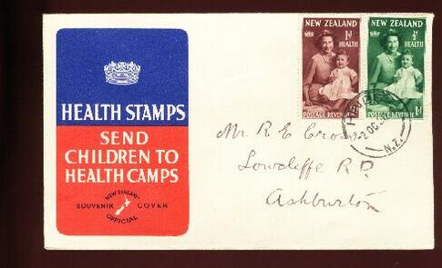 1950 Health fdc Hinds