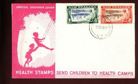 1948 Health fdc Gorge Road