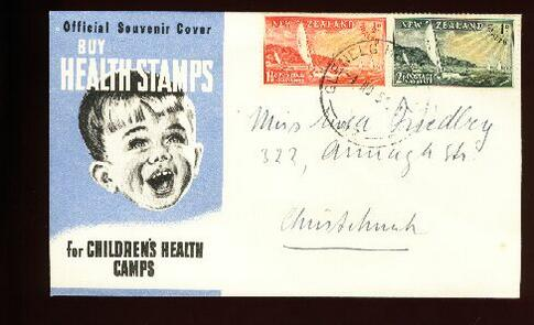 1951 Health fdc Glenelg camp