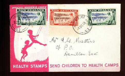 1948 Health fdc Hamilton East
