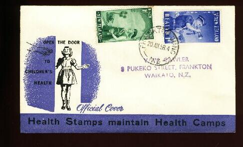1958 Health fdc Frankton Junc, address Frankton