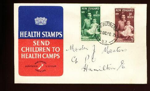 1950 Health fdc Hamilton East
