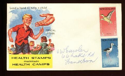 1959 Health unused cover Frankton Junc,