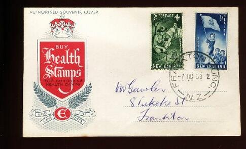 1953 Health fdc Frankton Junction