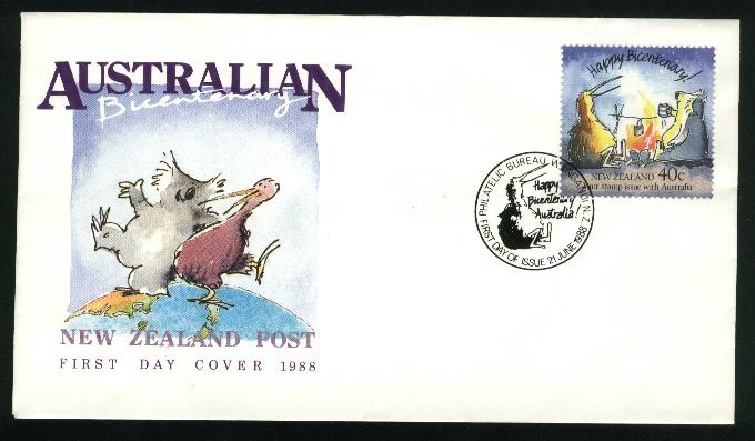 1988 Joint issue with Australia