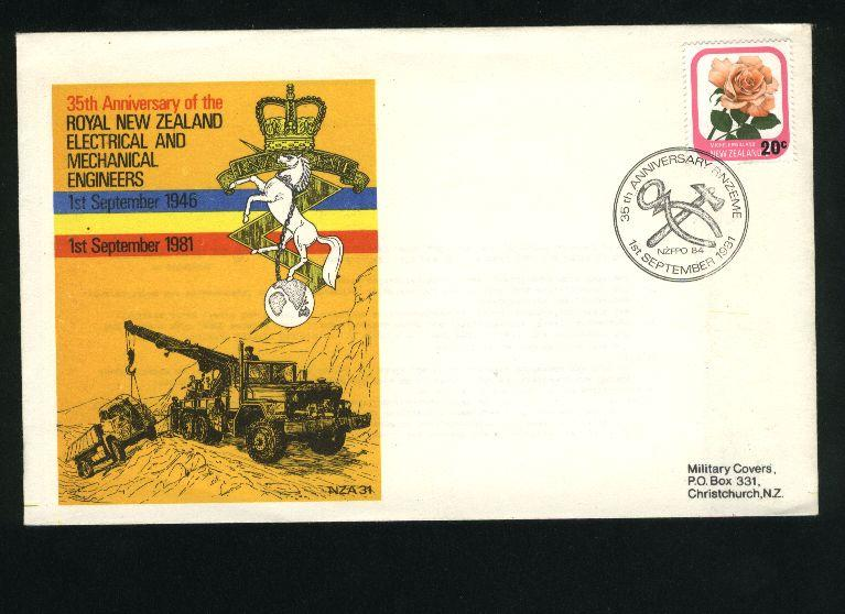1981 Military cover electrical and mechanical engineers