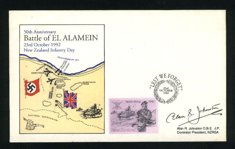 1942 Military cover battle of el alamein