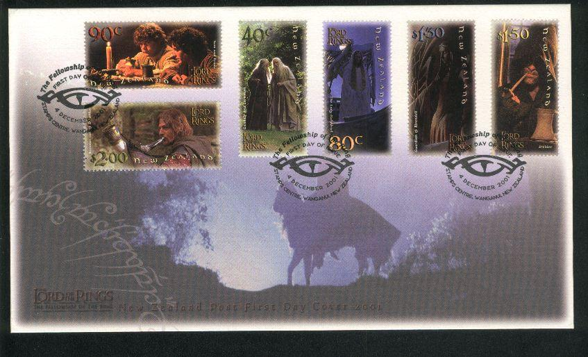 2001 Lord of the rings fdc