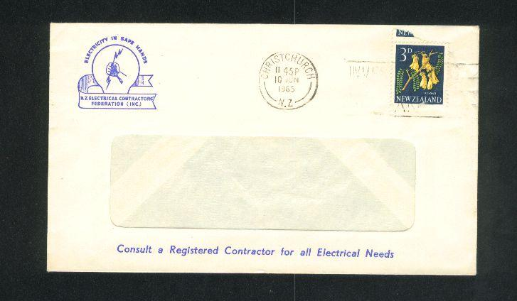 1965 Electrician cover