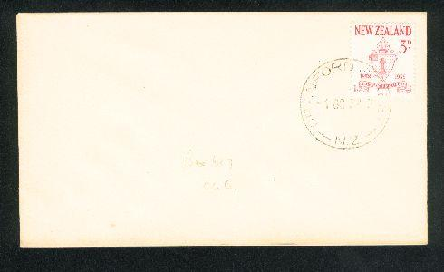 1958 Nelsen Cathedral city fdc